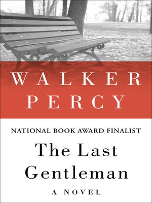 cover image of The Last Gentleman