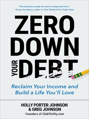cover image of Zero Down Your Debt