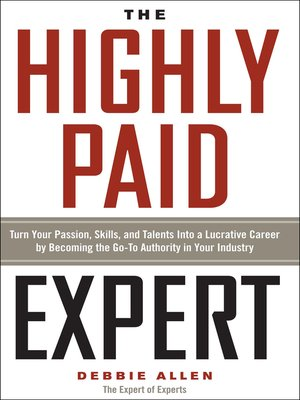 cover image of The Highly Paid Expert