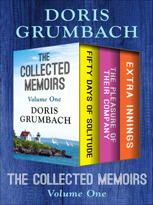 cover image of The Collected Memoirs Volume One