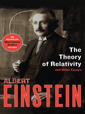cover image of Theory of Relativity