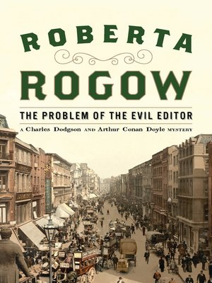 cover image of The Problem of the Evil Editor