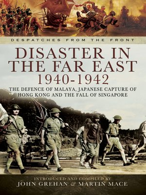 cover image of Disaster in the Far East, 1940–1942