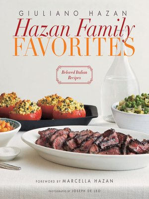cover image of Hazan Family Favorites