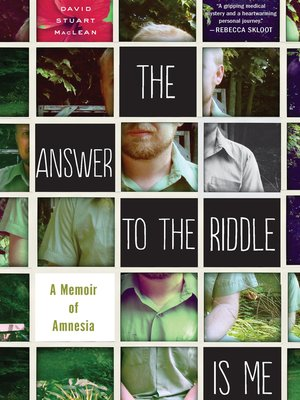 cover image of The Answer to the Riddle Is Me