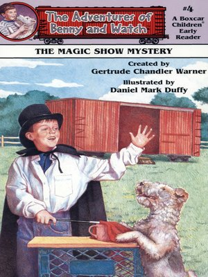 cover image of The Magic Show Mystery