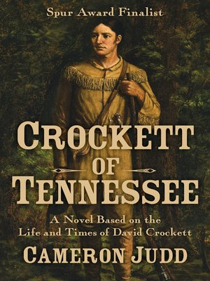 cover image of Crockett of Tennessee