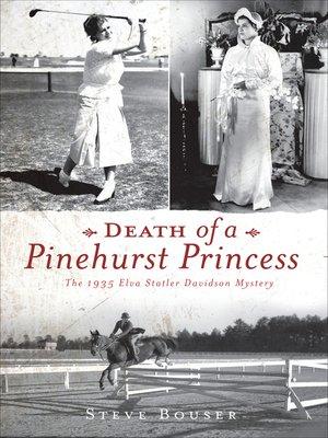 cover image of Death of a Pinehurst Princess