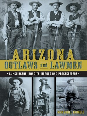 cover image of Arizona Outlaws and Lawmen