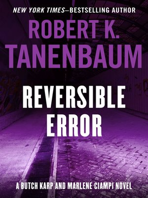 cover image of Reversible Error