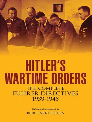 cover image of Hitler's Wartime Orders