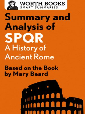 cover image of Summary and Analysis of SPQR