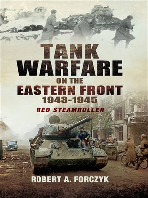 cover image of Tank Warfare on the Eastern Front, 1943–1945
