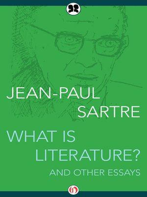 cover image of What Is Literature?