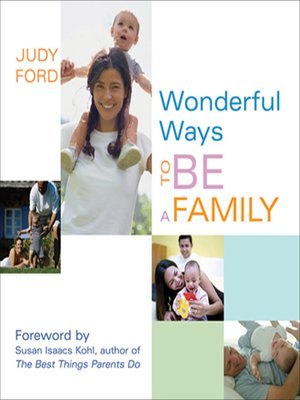 cover image of Wonderful Ways to Be a Family