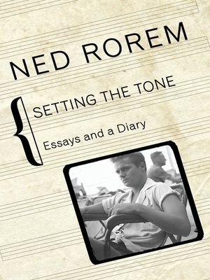 cover image of Setting the Tone