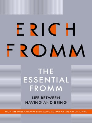 cover image of The Essential Fromm