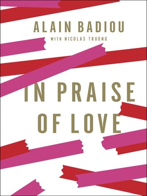 cover image of In Praise of Love