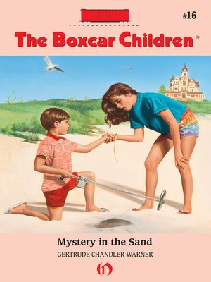 cover image of Mystery in the Sand