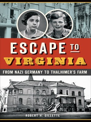 cover image of Escape to Virginia
