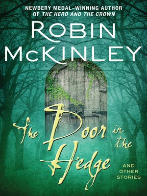 cover image of The Door in the Hedge and Other Stories