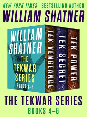 cover image of The TekWar Series Books 4–6