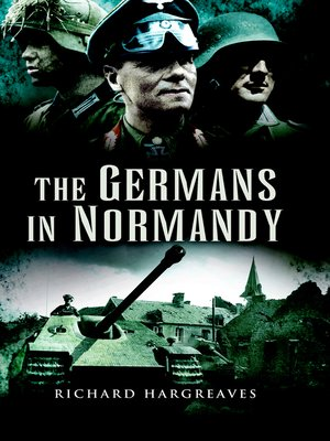 cover image of The Germans in Normandy