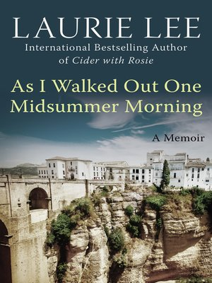 cover image of As I Walked Out One Midsummer Morning
