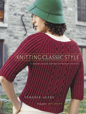 cover image of Knitting Classic Style