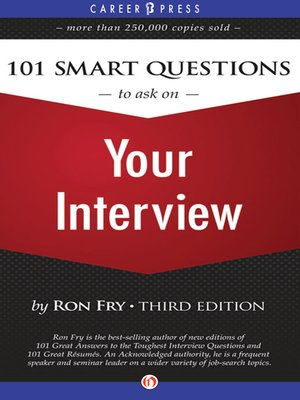 cover image of 101 Smart Questions to Ask on Your Interview