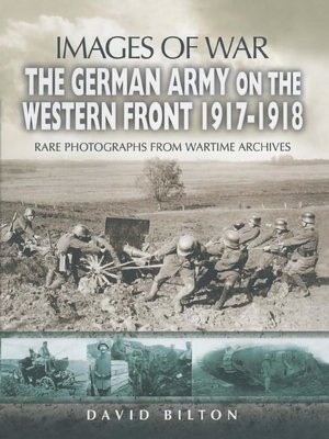 cover image of The German Army on the Western Front 1917-1918