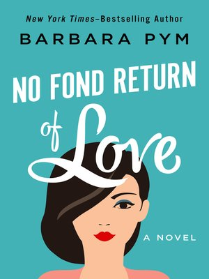 cover image of No Fond Return of Love