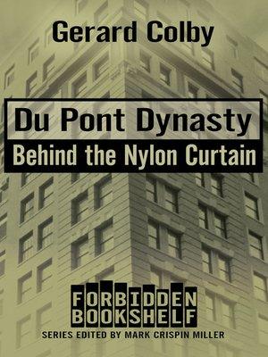 Du Pont Dynasty Forbidden Bookshelf