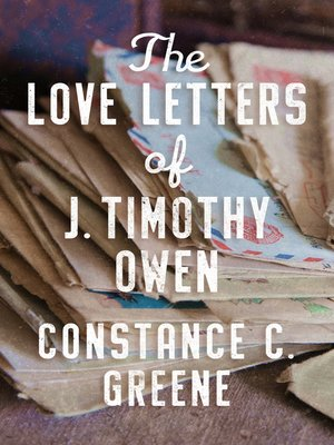 cover image of The Love Letters of J. Timothy Owen