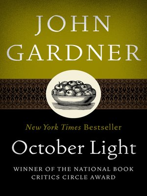 cover image of October Light
