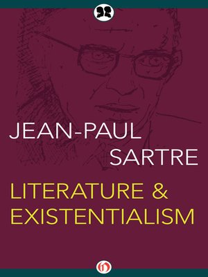 cover image of Literature & Existentialism