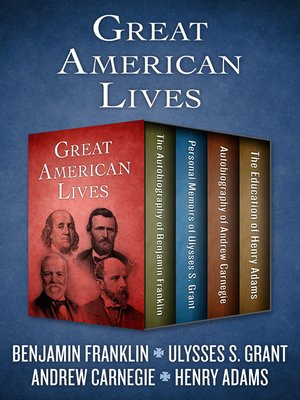 cover image of Great American Lives