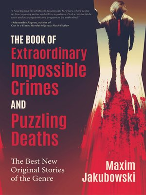 cover image of The Book of Extraordinary Impossible Crimes and Puzzling Deaths