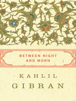 cover image of Between Night and Morn