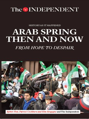 cover image of Arab Spring Then and Now