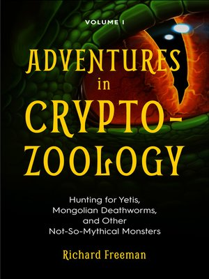 cover image of Adventures in Cryptozoology Volume 1