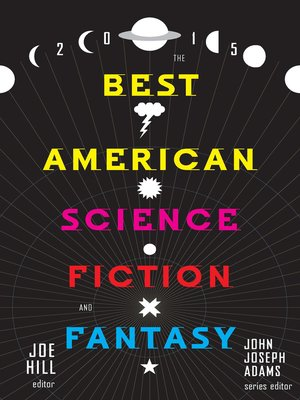 cover image of The Best American Science Fiction and Fantasy, 2015