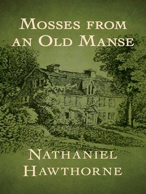 cover image of Mosses from an Old Manse