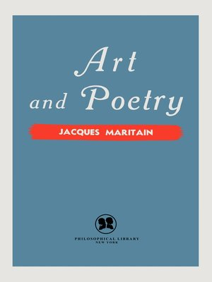 cover image of Art and Poetry