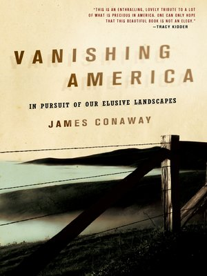 cover image of Vanishing America