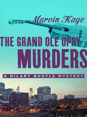 cover image of Grand Ole Opry Murders