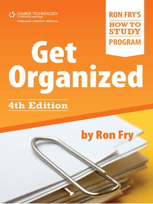 cover image of Get Organized