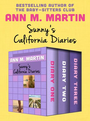cover image of Sunny's California Diaries