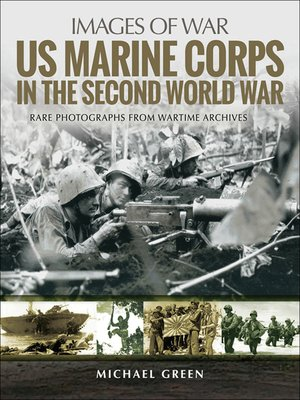 cover image of US Marine Corps in the Second World War
