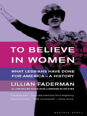 cover image of To Believe in Women